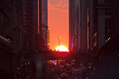 Manhattanhenge powered by Nikon