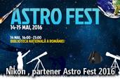 Nikon, partener Astro Fest 2016