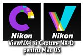 ViewNX-i si Capture NX-D pentru Mac OS