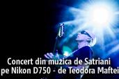 Concert din muzica de Satriani pe Nikon D750 - de Teodora Maftei