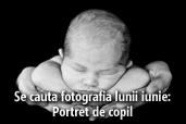 Se cauta fotografia lunii iunie - Portret de copil