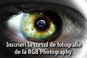 Inscrieri la cursul de fotografie de la RGB Photography