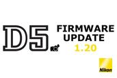 Nikon D5 firmware update versiunea 1.20