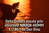 Delta Dunarii vazuta prin obiectivul NIKKOR AF-S 400MM F/2.8G ED VR - de Dan Dinu
