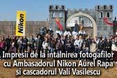 Impresii de la intalnirea fotografilor cu Ambasadorul Nikon Aurel Rapa si cascadorul Vali Vasilescu