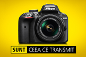 Fotografii superbe si partajare instantanee cu noul DSLR Nikon D3400