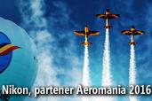 Nikon, partener Aeromania 2016