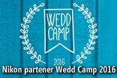 Nikon partener Wedd Camp 2016