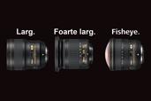 Larg. Foarte larg. Fisheye. Trei noi obiective NIKKOR.