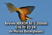 Review NIKKOR AF-S 300mm f/4E PF ED VR - de Mircea Bezergheanu, Ambasador Nikon