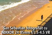 San Sebastian - Capitala Europeana a Culturii 2016  fotografiata cu Nikon 24-85mm f/3.5-4.5 VR