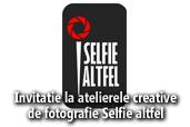 Invitatie la atelierele creative de fotografie Selfie altfel