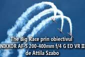The Big Race prin obiectivul NIKKOR AF-S 200-400mm f/4 G ED VR II - de Attila Szabo