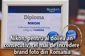 Nikon, pentru al doilea an consecutiv, cel mai de incredere brand foto din Romania