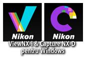 ViewNX-i versiunea 1.1.0a si ViewNX-i & Capture NX-D versiunea 1.15.090a pentru Windows