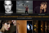 3 zile de workshop de fotografie de nunta cu Marian Sterea, Greg Moment si Sakis Batzalis in Bucuresti