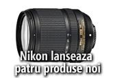 Nikon lanseaza un obiectiv versatil DX si  extinde gamele COOLPIX si Speedlight