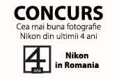 Concurs: Castigati 40 de invitatii la Aniversarea Nikon 4 Ani!
