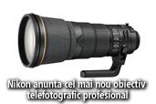 Nikon anunta cel mai nou obiectiv telefotografic profesional  si mezinul familei Nikon 1