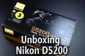 Unboxing Nikon D5200