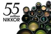 55 de milioane de obiective NIKKOR