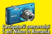 Castigatorii concursului 5 ani Nikon in Romania