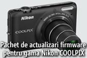 Pachet de actualizari firmware pentru gama Nikon COOLPIX