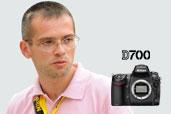 Reporterul special Adelin Petrisor este imaginea aparatului foto DSLR Nikon D700 in Romania