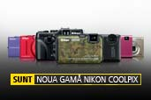 Nikon lanseaza AW100 - primul aparat COOLPIX subacvatic si alte 6 aparate compacte