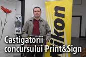 Castigatorii concursului Print&Sign