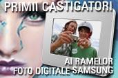 Primii castigatori ai ramelor foto digitale Samsung oferite in promotia Nikon COOLPIX