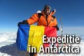 Crina Coco Popescu porneste o expeditie in Antarctica