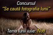 Se cauta fotografia lunii iulie: Nud