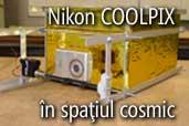 Nikon COOLPIX in spatiul cosmic