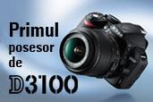 Primul posesor de Nikon D3100 din Romania