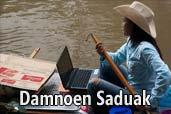 Hai-hui cu Nikon prin Asia de Sud-Est: Piata plutitoare din Thailanda