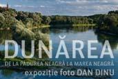 Dunarea - Expozitie Dan Dinu la Galati si Tulcea