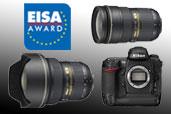 Nikon a obtinut premiile EISA European Professional Camera 2008-2009 si European Professional Lens 2008-2009