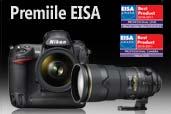 Nikon D3S si Nikkor 300mm f/2.8 premiate de EISA