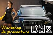 Noul Nikon D3X a fost prezentat in cadrul unei sedinte foto a carui subiect a fost Audi Q5