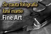 Concursul lunii martie: fotografia Fine Art