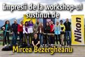 Impresii de la workshop-ul de portret sustinut de Mircea Bezergheanu