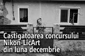 Castigatoarea concursului Nikon-LicArt din luna decembrie