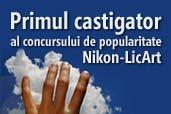 Primul castigator al concursului de popularitate Nikon-LicArt
