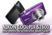 Nikon COOLPIX S2600, noul premiu de la concursul Nikon-LicArt