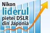 Nikon a redevenit liderul pietei DSLR din Japonia