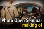 Photo Open Seminar - making of