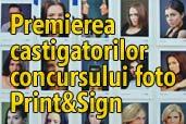 Premierea castigatorilor concursului foto Print&Sign