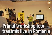 Primul workshop foto transmis live in Romania