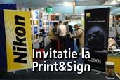 Nikon si Epson va invita la Print&Sign